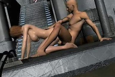 Real 3D Animation Sex Scene